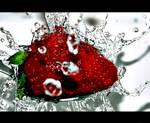Strawberry bath