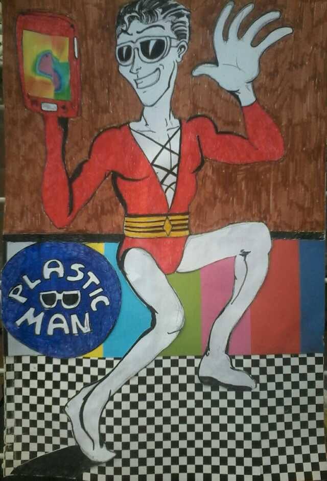Plastic Man by Cuestionador