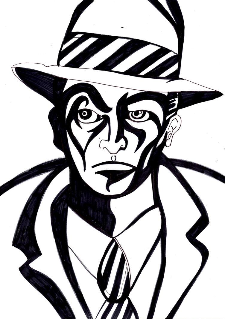 Noir Guy by Cuestionador