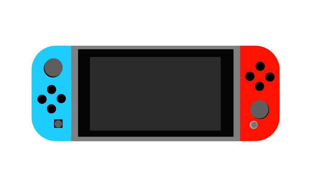 Nintendo Switch (Neon) by souldragnet