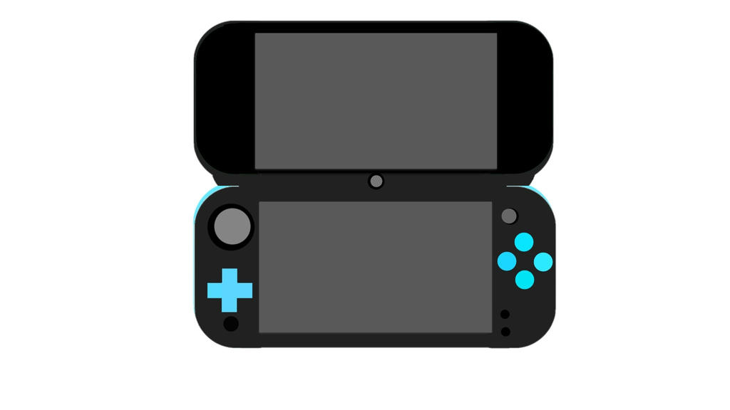 New Nintendo 2DS XL by souldragnet