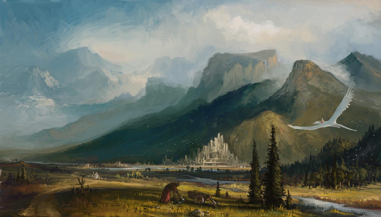 Landscape by HughEbdy