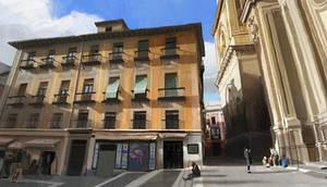 A square in Granada.