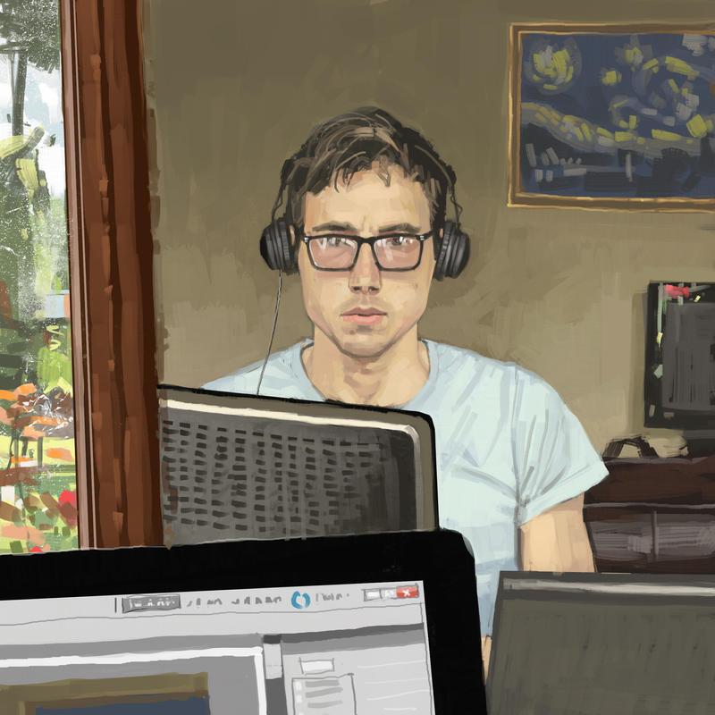 Self portrait by HughEbdy