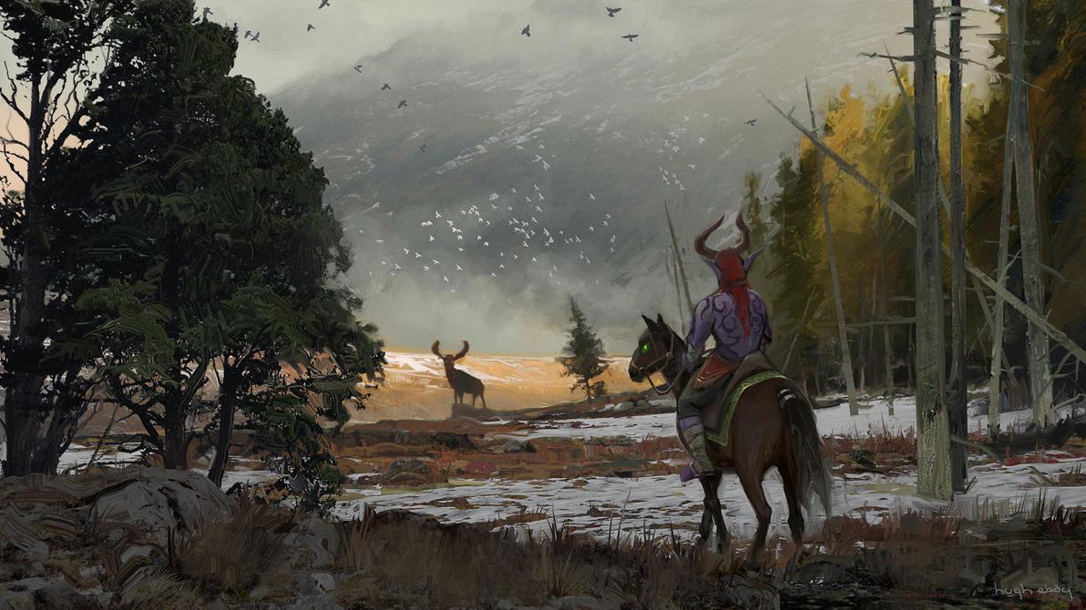 Highmountain / Stormheim by HughEbdy