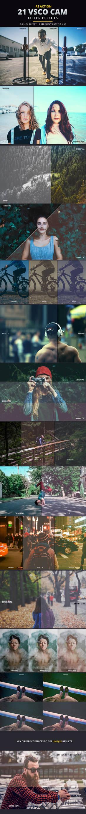 Vsco Cam Filter Effects