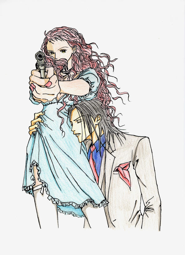 Reira y Takumi by AlFondoALaDerecha