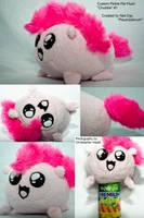 Pinkie Pie Chubbie Plushie! by DapperCat-UK