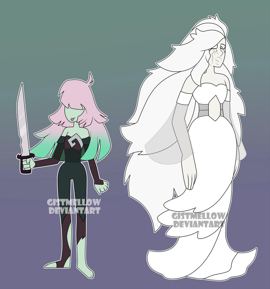 -OPEN- [1/2] - Rebel Gemsona Adoptables by GistMellow