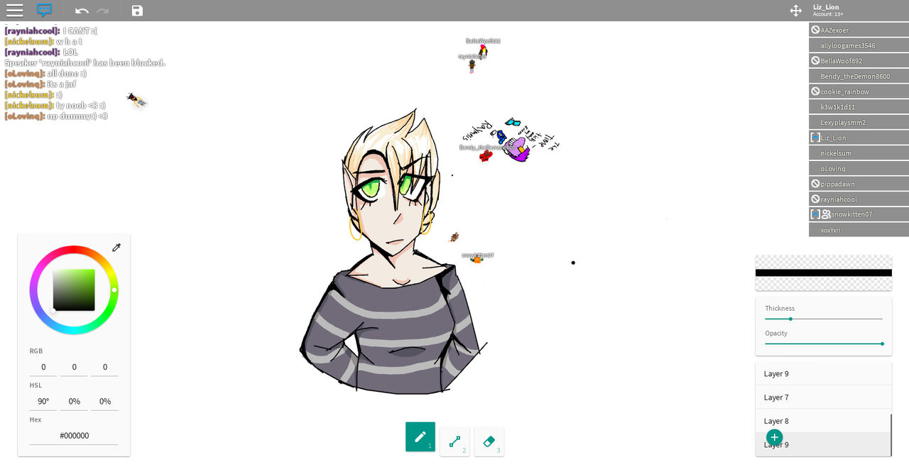 Old Ew Drawing In Roblox Is Struggle By F0xifer On Deviantart
