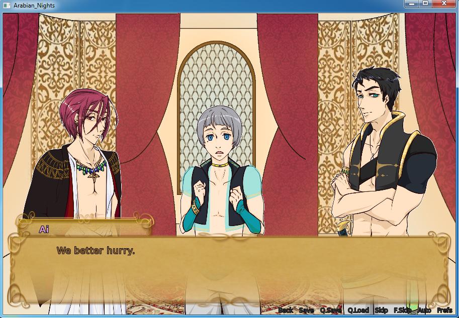 Free! Arabian Nights [Screenshot] by Red-Baby