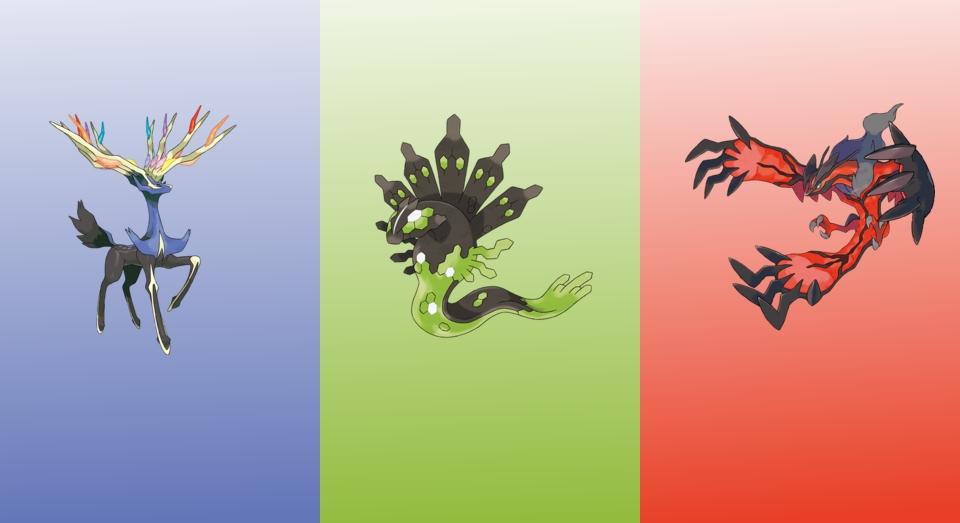 Pokemon x and y legendaries wallpaper hd