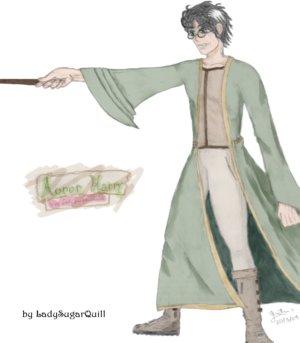 Auror Harry - Green by Harry-J-Potter-Club