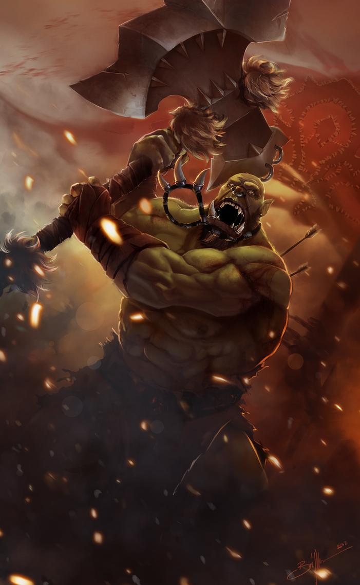 Orc Berserker by RebelRacoons