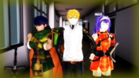 Ike, Mia, And Genos