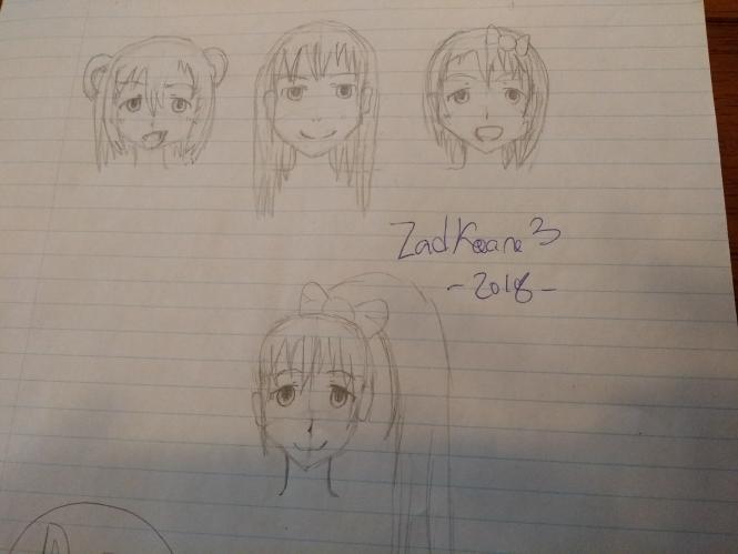 Doki Doki Literature Club Fan-art by ZadKaane3