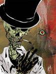 Smoking skull by elftorp
