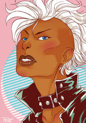 [FanArt] Punk Storm -- X-Men by HRandt