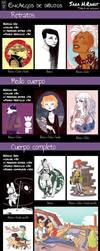 Encargos - Commissions 2014 [ESP] by HRandt