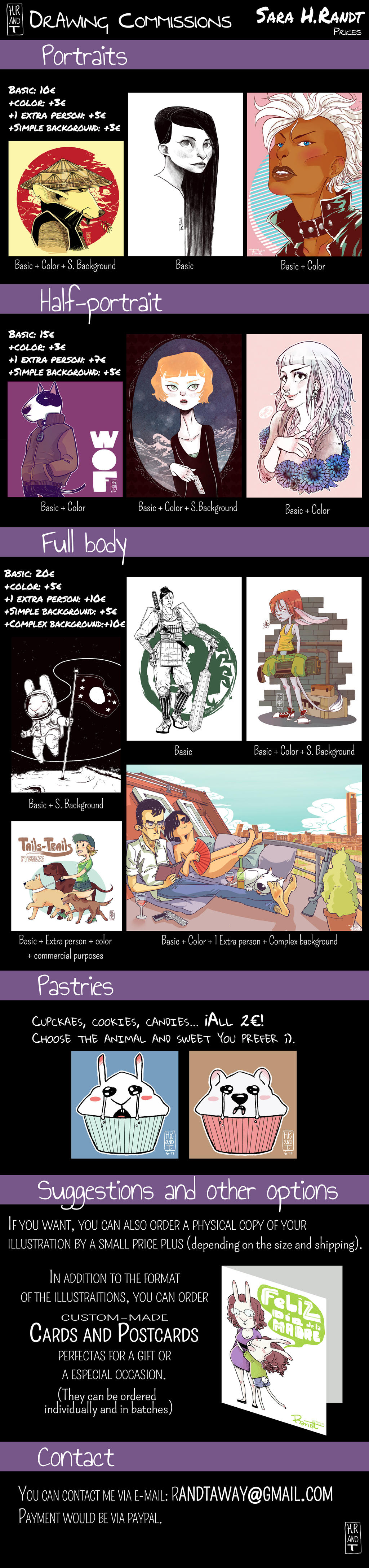 Commissions 2014 [EN] by HRandt