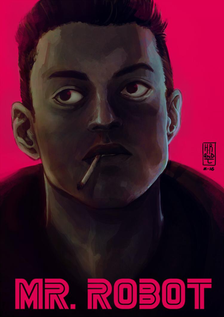 Elliot - Mr Robot by HRandt