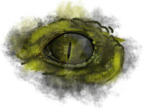 The reptile's gaze