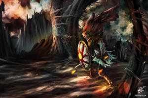 Dark Souls: Knight Solaire by PieterSneep