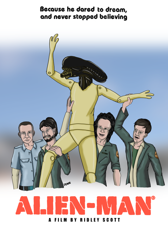 Alien-Man A Film By Ridley Scott by ElPresedente
