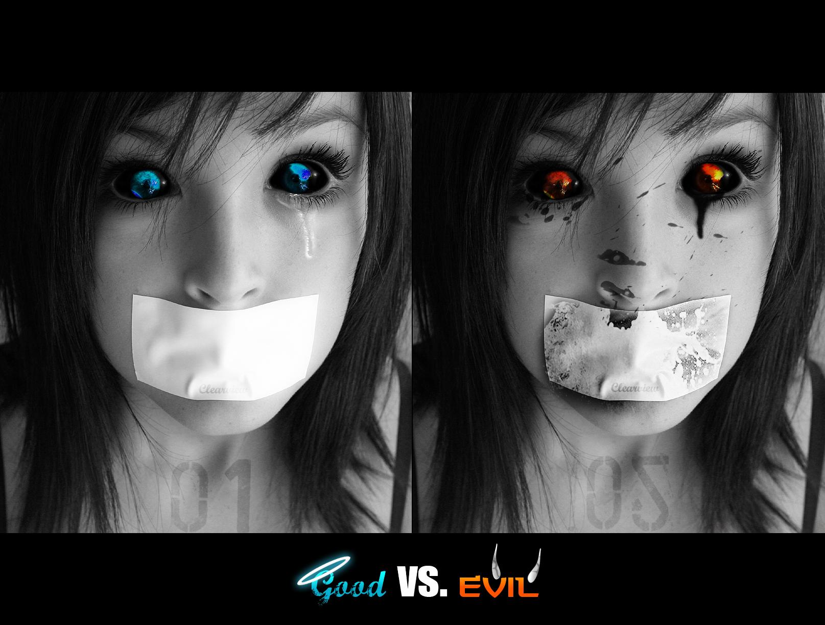 Good vs Evil Battle Wallpaper Good vs Evil Wallpaper by