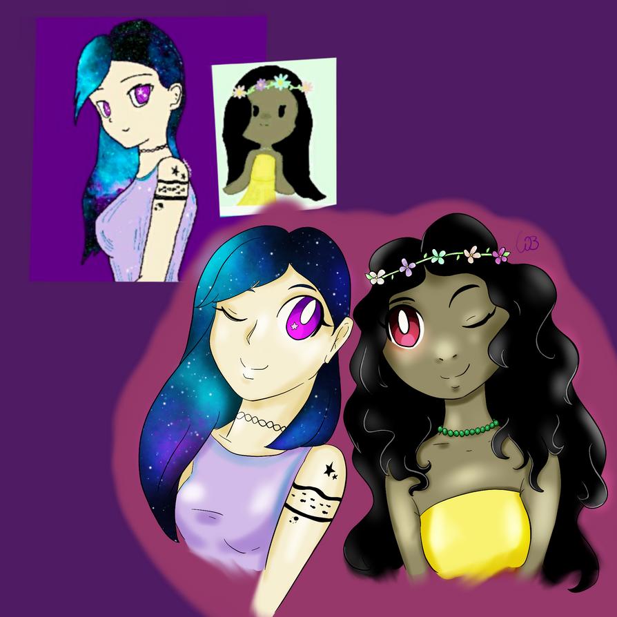 PopJam Fanart - girls by Integra4Hell