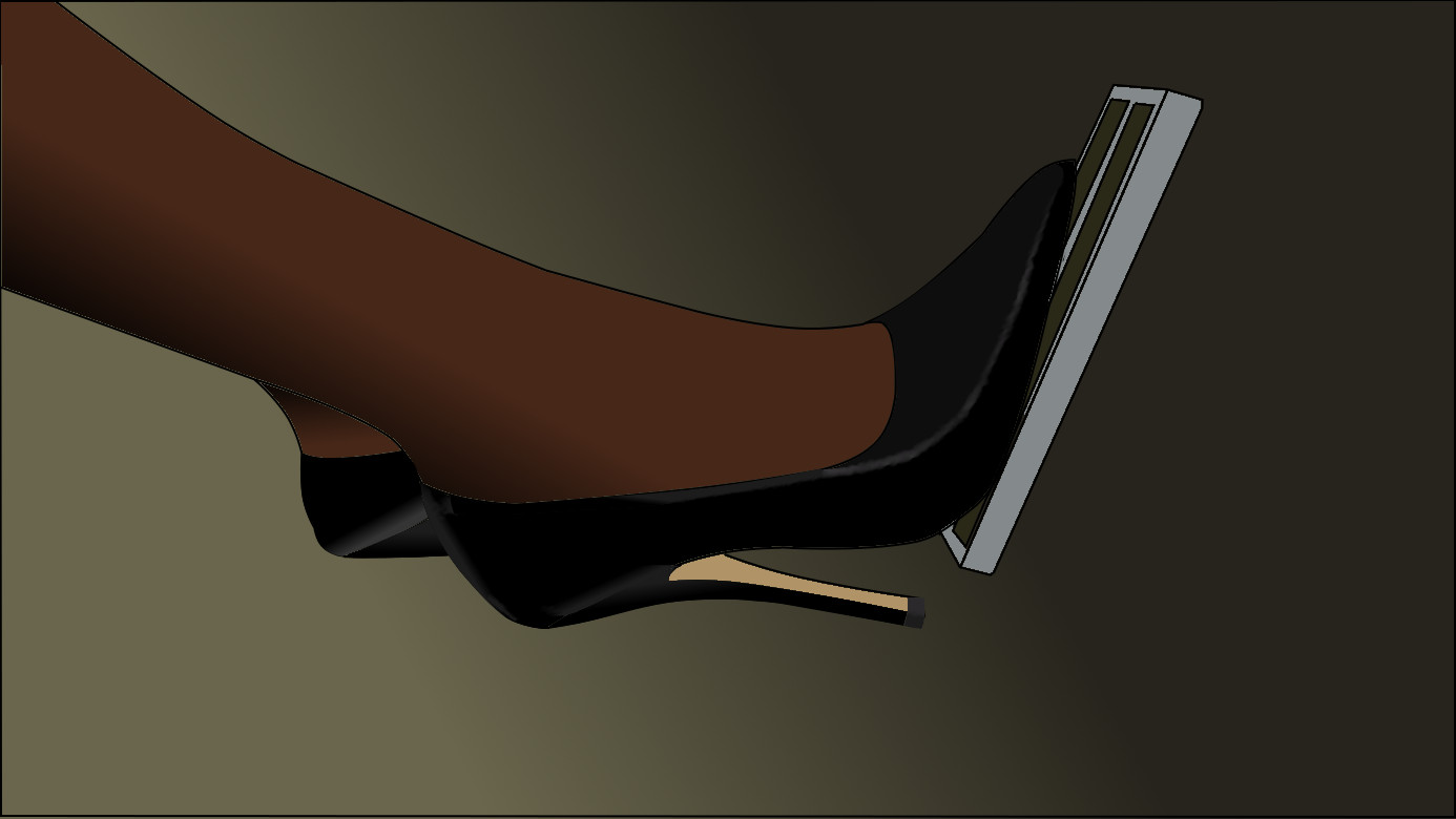 Black High Heels Pedal Pumping By Iloveheels77 On Deviantart