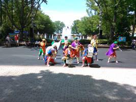 The Clown Band by MothraLeo
