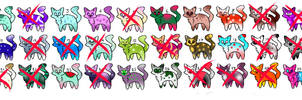 30 chibi cheap cat ADOPTS! (2 points each one!)