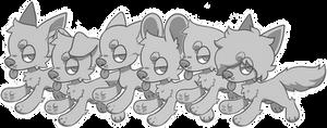 P2U Basic Dog Base Pack