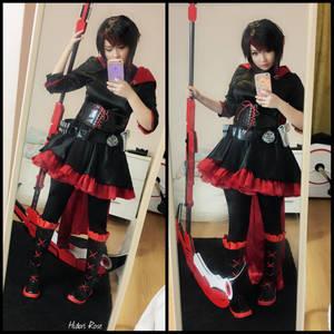 Ruby cosplay by Hidori Rose (RWBY)