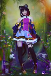 Kiruya Momochi cosplay by Hidori Rose