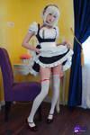 Sirius Azur Lane cosplay maid by Hidori Rose 04