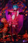Miku Halloween Devil  cosplay by Hidori Rose 05
