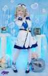 Barbara Genshin Impact cosplay by Hidori Rose