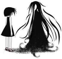 Shadow Elementalist by Coro-Yuki