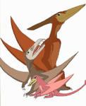 Pterano, Sierra, and Rinkus