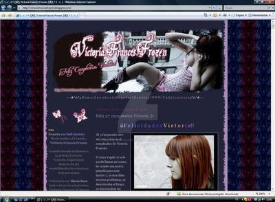 Victoria Frances Frozen by VictoriaFrancesClub