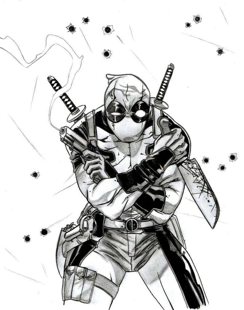 Mi primer Deadpool by flodoyle on DeviantArt