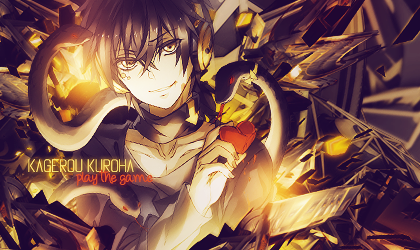 Kagerou Kuroha by miniMellowGFX