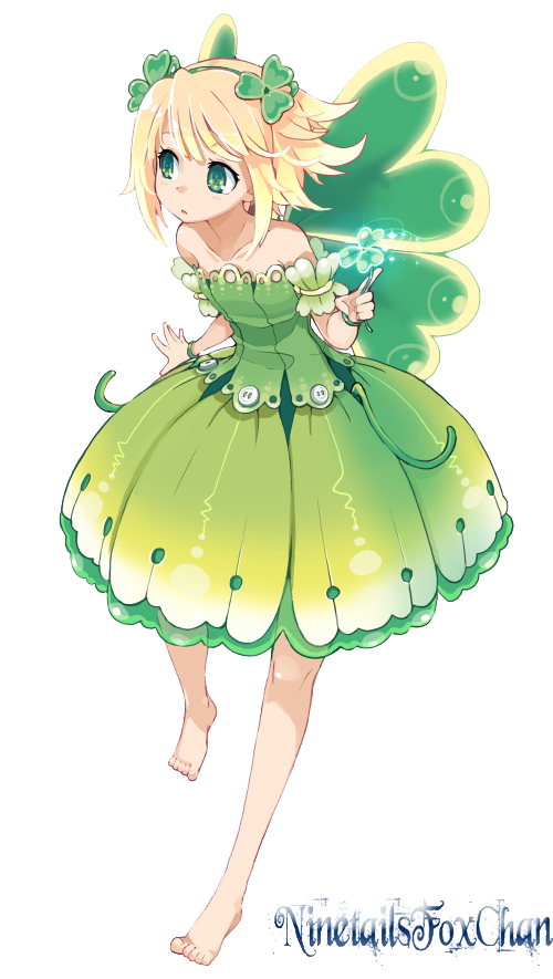 Anime Fairy Render by NinetailsFoxChan on DeviantArt