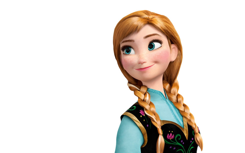 Princess Anna Png[Frozen] by NinetailsFoxChan