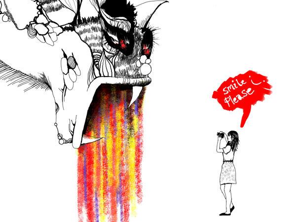 Monster Inside of Me by danlikestrees