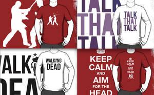 Tshirts Walking Dead by danlikestrees