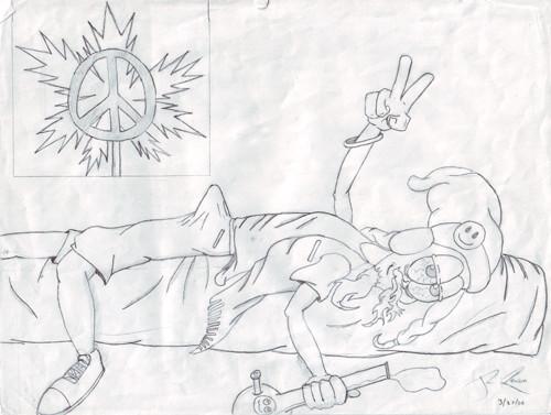 Stoner Hippie By Stryder Sama On Deviantart