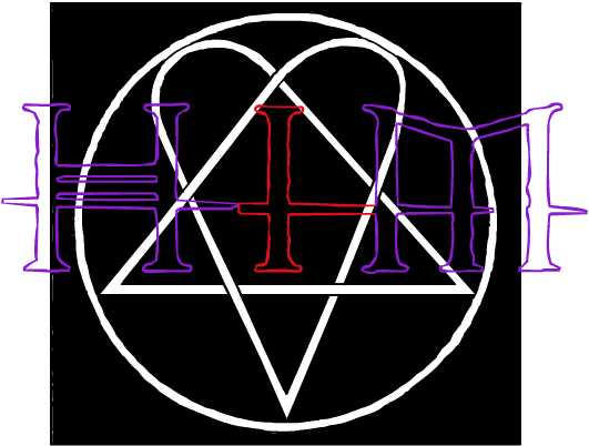 HIM Logo + Heartagram by BloodyValentine2007 on DeviantArt